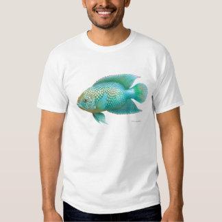 Camiseta del Cichlid de Jack Dempsey Remeras