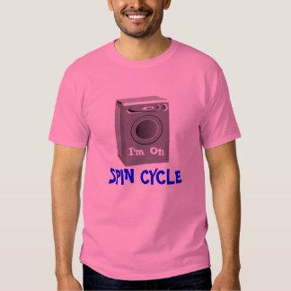 Camiseta del ciclo de la vuelta - rosa polera