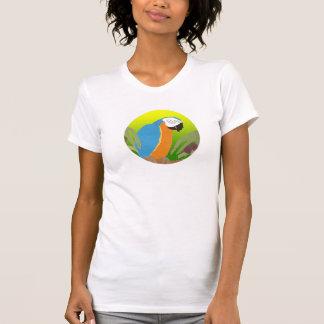 """""""Camiseta del círculo del loro"""""""