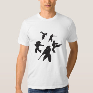 Camiseta del círculo que lucha remeras