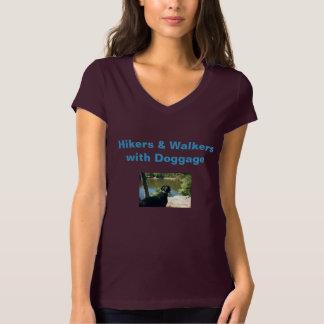"""Camiseta del ciruelo: """"Caminantes y caminante con Camisas"""