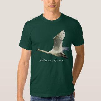 Camiseta del cisne de trompetista del AMANTE de Polera