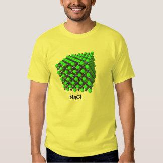 Camiseta del cloruro sódico remeras