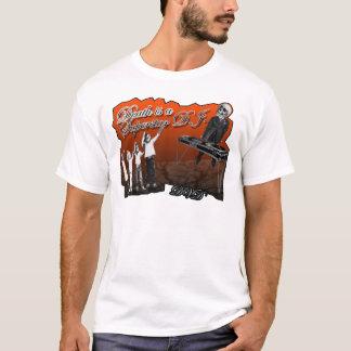 camiseta del club de baile D de DJ de la