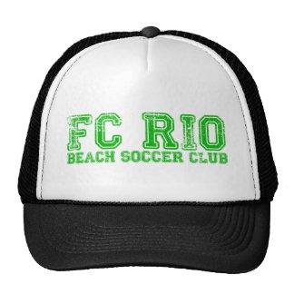 Camiseta del club del fútbol de la playa de FC Río Gorros