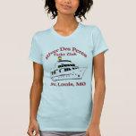 Camiseta del club náutico del DES Peres del río de Playera