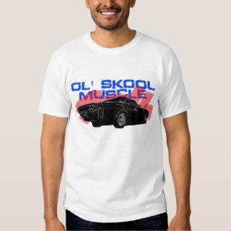 Camiseta del coche del cargador del músculo de la remera