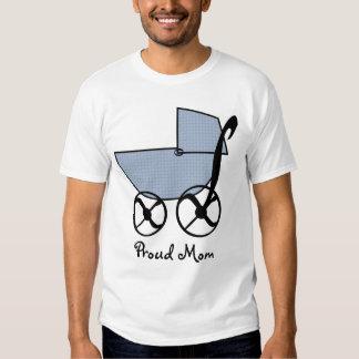 Camiseta del cochecillo de bebé poleras