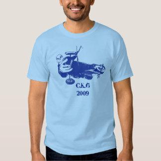 Camiseta del cochecillo de la cometa remera
