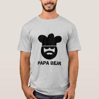 Camiseta del cocinero del cocinero del oso de la