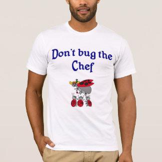 Camiseta del cocinero o del cocinero