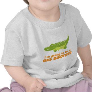 Camiseta del cocodrilo de hermano mayor