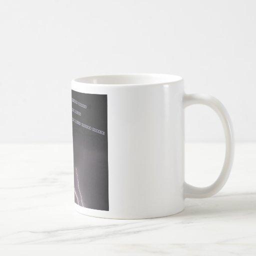 Camiseta del codificador tazas de café