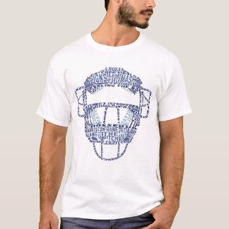 Camiseta del colector del béisbol de la impresión