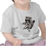 Camiseta del collage de la leche, niños