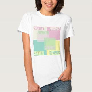 camiseta del color del verano, color t del verano poleras