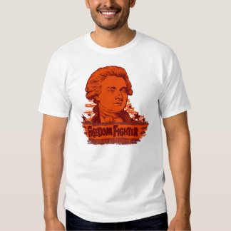 Camiseta del combatiente de la libertad de Thomas Playera