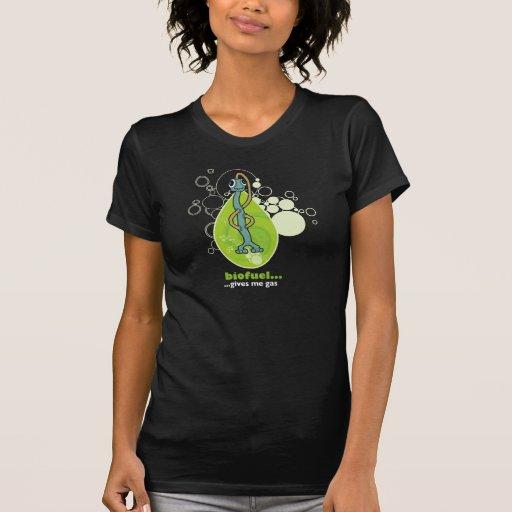 Camiseta del combustible biológico de WeeMad Playeras