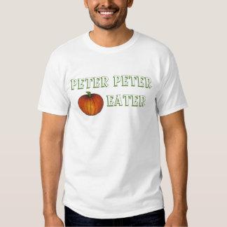 Camiseta del comedor de la calabaza de Peter Peter Playera
