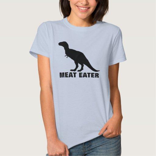 Camiseta del comedor de la carne playera