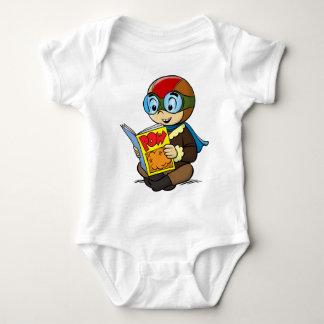 Camiseta del cómic de Freddy del Flyboy de FRED Poleras