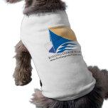 Camiseta del compañero del perro camiseta de perro