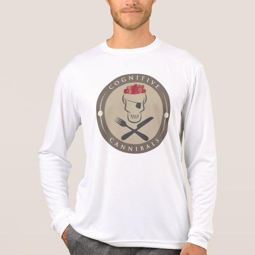 Camiseta del competidor L/S del Deporte-Tek de los
