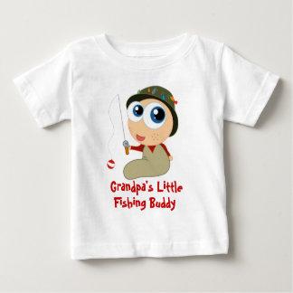 Camiseta del compinche de la pesca del abuelo playeras