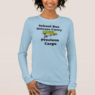 Camiseta del conductor del autobús escolar