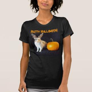 Camiseta del conejito de Halloween