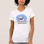 Camiseta del conejito de la nieve