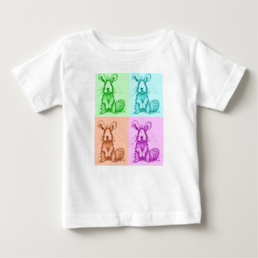 Camiseta del conejo de conejito del niño remera