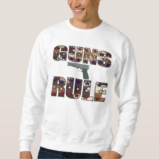 Camiseta del control de armas pulover sudadera