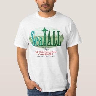 Camiseta del convenio de SeaTALL Remeras