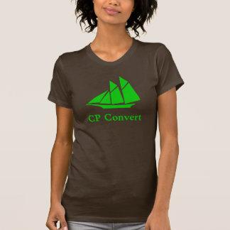 Camiseta del convertido del CP