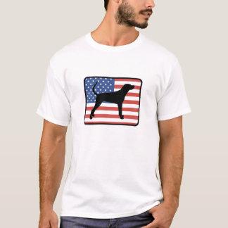 Camiseta del Coonhound de Redbone del americano