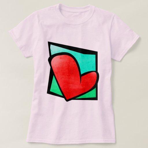 Camiseta del corazón 9