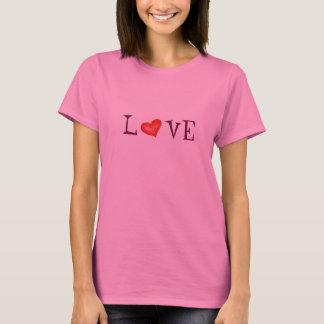Camiseta del CORAZÓN del AMOR