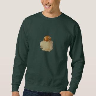 Camiseta del cordero del día de fiesta del navidad sudadera
