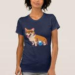 Camiseta del Corgi del inconformista (sin texto)