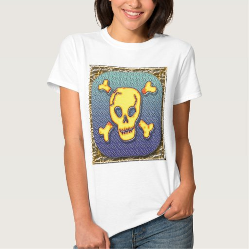 Camiseta del cráneo #2 del pirata