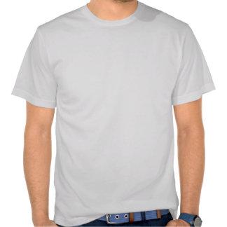 Camiseta del cráneo de la metralla