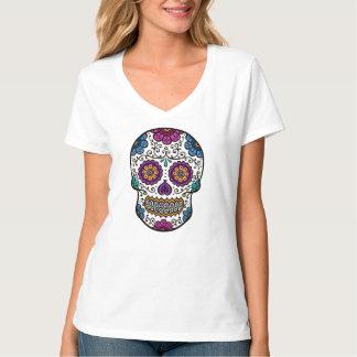 Camiseta del cráneo del azúcar camisas
