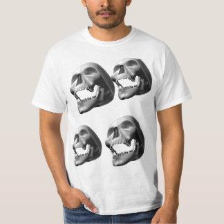 Camiseta del cráneo HD Remera