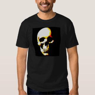 Camiseta del cráneo: Punk de la roca del arte de Playera