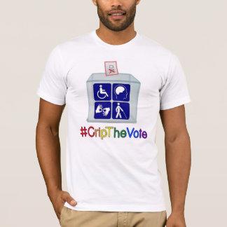 camiseta del #CripTheVote, blanco, para los
