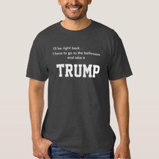 Camiseta del cuarto de baño del triunfo poleras