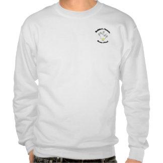 Camiseta del cuello barco - los tamaños de los pulóver sudadera