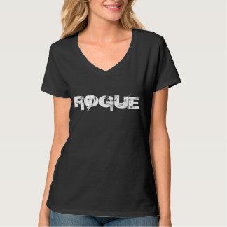 Camiseta del cuello en v del GRANUJA Playeras