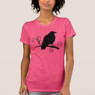 Camiseta del cuervo del cuervo